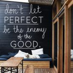 Don't let the perfect be the enemy of the good