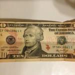 $10 美金